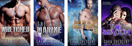 Books by Cara Crescent, Award Winning Author